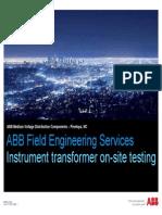 ABB Onsite Testing (NXPowerLite)