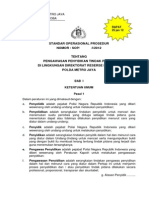 19. Sop Pengawasan Penyidikan Tindak Pidana Dit Resnarkoba Polda Metro Jaya