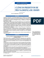 FACTORES CLÍNICOS PREDITIVOS DE COMPLICAÇÕES NA DOENÇA DE CROHN