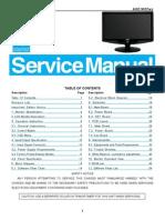 AOC TFT-LCD Color Monitor 931Fwz Service Manual