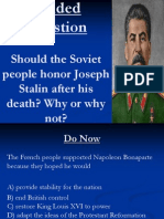 Lesson 75 Stalin Day 2