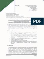 Lateral Entry to BSc degree Programmes of  Allied Health Sciences and Medical Laboratory Science(FAHS.) SirJohn Kotelawala Defence University (KDU)-(Nursing/MLS/Pharmacy/Radioqraphy) SLSMLS/2014