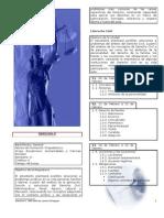 1a 2008 Dosificación Derecho II
