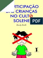 A Participação das Crianças no Culto Solene