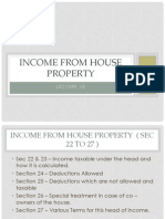 Lecture 10 - Income From House Property