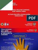 ACTUALIZACIÓN LEGISLACIÓN EDUCATIVA