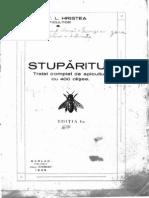 Stuparitul c.l.hristea Editia i 1935