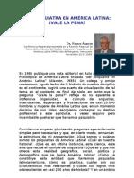 SER PSIQUIATRA EN AMÉRICA LATINA - Renato Alarcón