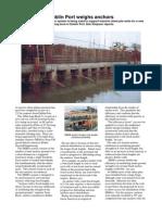 Dublin Port Weighs Anchors Dan Simpson