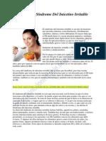 Dieta Para El Síndrome Del Intestino Irritable