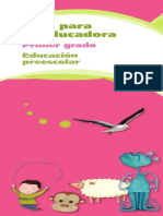 Guia Para La Educadora de Preescolar Tomo 1