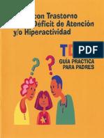 Guia TDAH Para Padres