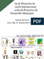 1 Formulación y Evaluación de Pro yectos de Desarrollo Municipal