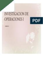 Investigacion de Operaciones Historia