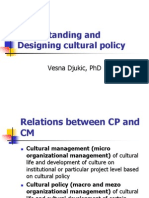 Vesna Djukic - Cultural Policy and Cultural Rights