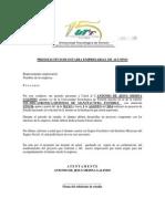 Presolicitud de Estadia Empresarial de Alumno