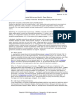 Nonprofit Policy News -- Special Edition on Health Care Reform