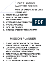 Flight Planning & AP Calculation