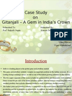 Case Study on Geetanjali Gems