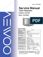 Dth-29ms Service Manual Cm012m (S-m)