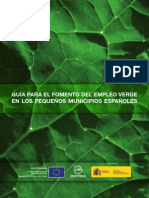Guía empleo verde FEMP