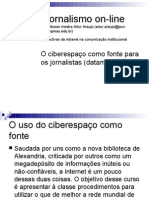 A pesquisa na internet