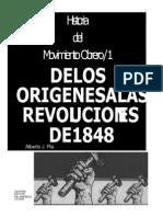 Pla, Alberto. De los orígenes a las revoluciones de 1848.