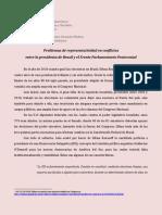 Problemas de representatividad en conflictos entre la presidenta de Brasil y el Frente Parlamentario Pentecostal