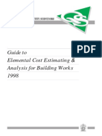 Model Elemental Estimate