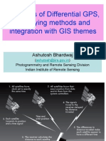 Principles of Differential GPS, Surveying Methods and Integration With GIS