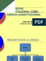 I. Ciencia Constitucional