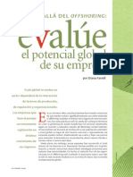 Evalue El Potencial Global de Su Empresa