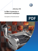 SSP 336 (Le filtre ŕ particules ŕ revętement catalytique)