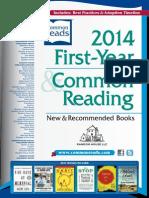 Random House 2014 First Year & Common Reading® Catalog