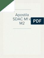 Apostila SDAC M1 e M2