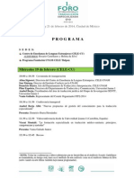 Programa I FITE-2014