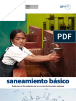 Mef Saneamiento Basico (Proyectos Exitosos)