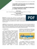 Analise Das Causas de Anomalias Mais Frequentes Em Revestimentos Epoxidos Em Pisos Industriais