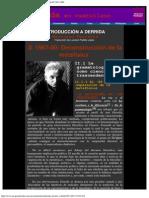 Ferraris, Fabrizio - Introducción a Derrida II. 1967-80; deconstrucción de la metafísica. Trad. Luciano Padilla López