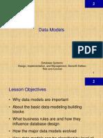 DBMS Chapter 2 - Data Models