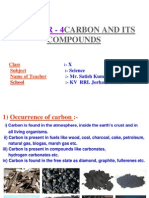 carbon and its compounds ppt