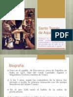 Santo Tomas de Aquino-Lunes