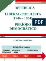 br período democrático