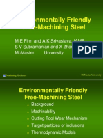 Environmentally Friendly Free Machining Steel.ppt