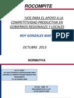 Presentacion Procompite Oct 2013 Parte 2