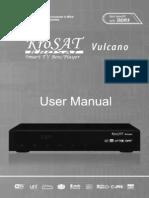 KroSAT Vulcano Manual Do Usuario English v130116