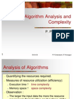 Algorithm Analysis n Complexity