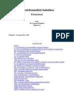 Ferenczi Sándor - A pszichoanalízis haladása