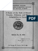 A Study of the Soils of Macon County, Alabama