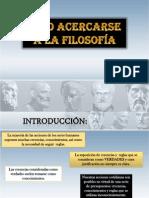 Como acercarse a la filosofía.